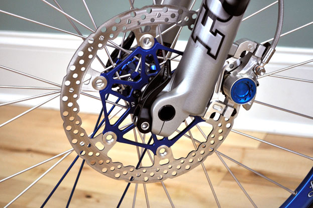 Hope Moto V2 Rotors w/ Matching Machined Caliper